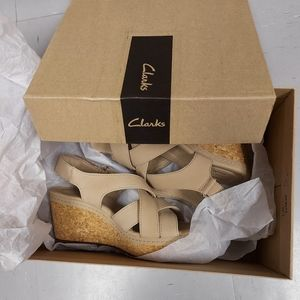 NEW* OFFERS MOST WELCOME. Clarks Wedge Sandals
